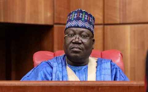 Senate President Ahmed Lawan (Daily Post)