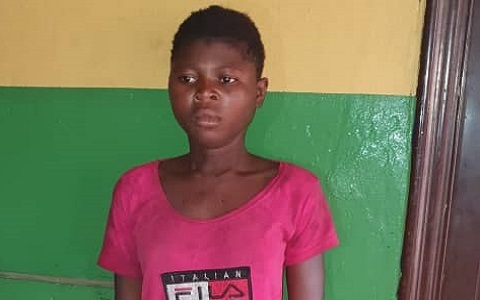 Image result for Teenage girl stabs boyfriend to death over N3000
